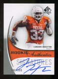 2010 Upper Deck SP Authentic #162 Lamarr Houston Autograph /599