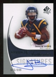 2010 Upper Deck SP Authentic #165 Jarrett Brown Autograph /599