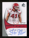 2010 Upper Deck SP Authentic #169 Koa Misi Autograph /599