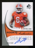 2010 Upper Deck SP Authentic #172 Jacoby Ford Autograph /599