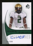 2010 Upper Deck SP Authentic #176 Carlton Mitchell Autograph /599