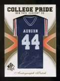 2010 Upper Deck SP Authentic College Pride Patch Autographs #BT Ben Tate Autograph