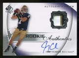 2010 Upper Deck SP Authentic #105 Jimmy Clausen Jersey Autograph /299