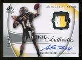 2010 Upper Deck SP Authentic #115 Armanti Edwards Jersey Autograph /499