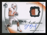 2010 Upper Deck SP Authentic #123 Jordan Shipley Jersey Autograph /499
