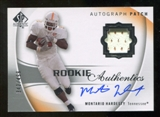 2010 Upper Deck SP Authentic #131 Montario Hardesty Jersey Autograph /499