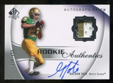 2010 Upper Deck SP Authentic #132 Golden Tate RC Patch Autograph 120/499