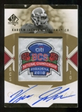 2010 Upper Deck SP Authentic Championship Patch Autographs #KJ Kareem Jackson Autograph