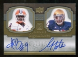2010 Upper Deck Exquisite Collection Ensemble 2 Signatures #TB Arrelious Benn Golden Tate Autograph 22/25