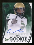 2010 Upper Deck Exquisite Collection #139 Carlton Mitchell RC Autograph 4/65