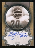 2010 Upper Deck Exquisite Collection Legacy Signatures #LSI Billy Sims Autograph 16/20