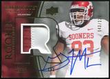 2010 Upper Deck Exquisite Collection #119 Gerald McCoy RC Patch Autograph 43/120
