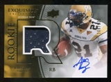 2010 Upper Deck Exquisite Collection #124 Jonathan Dwyer RC Patch Autograph 108/120