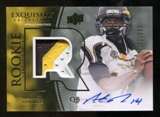 2010 Upper Deck Exquisite Collection #113 Armanti Edwards RC Patch Autograph /120