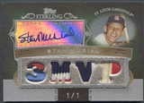 2007 Topps Sterling #SSA84 Stan Musial Stardom Relics Quad Patch Auto #1/1