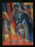 2012/13 Upper Deck Fleer Retro 96-97 Molten Metal #1 Magic Johnson