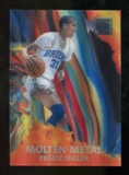 2012/13 Upper Deck Fleer Retro 96-97 Molten Metal #12 Reggie Miller
