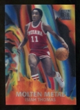 2012/13 Upper Deck Fleer Retro 96-97 Molten Metal #13 Isiah Thomas