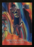 2012/13 Upper Deck Fleer Retro 96-97 Molten Metal #14 David Robinson