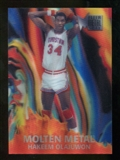 2012/13 Upper Deck Fleer Retro 96-97 Molten Metal #15 Hakeem Olajuwon