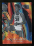 2012/13 Upper Deck Fleer Retro 96-97 Molten Metal #17 Julius Erving