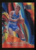 2012/13 Fleer Retro 96-97 Molten Metal #19 Larry Bird