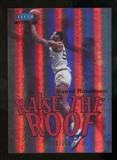 2012/13 Upper Deck Fleer Retro 99-00 Mystique Raise the Roof #8RR David Robinson /100