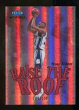 2012/13 Upper Deck Fleer Retro 99-00 Mystique Raise the Roof #13RR Ray Allen /100