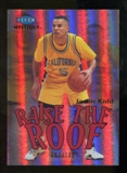 2012/13 Upper Deck Fleer Retro 99-00 Mystique Raise the Roof #14RR Jason Kidd /100