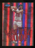 2012/13 Upper Deck Fleer Retro 99-00 Mystique Raise the Roof #19RR Clyde Drexler /100