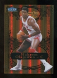 2012/13 Upper Deck Fleer Retro 98-99 Tradition Playmakers Theater #21PT Hakeem Olajuwon /100
