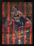 2012/13 Upper Deck Fleer Retro 98-99 Metal Universe Precious Metal Gems #98PM21 David Robinson /50