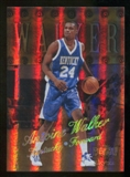 2012/13 Upper Deck Fleer Retro 98-99 Metal Universe Precious Metal Gems #98PM44 Antoine Walker /50