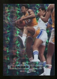 2012/13 Upper Deck Fleer Retro 97-98 Metal Universe Precious Metal Gems #97PM1 Bernard King /100