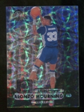 2012/13 Upper Deck Fleer Retro 97-98 Metal Universe Precious Metal Gems #97PM12 Alonzo Mourning /100