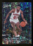 2012/13 Upper Deck Fleer Retro 97-98 Metal Universe Precious Metal Gems #97PM30 Dominique Wilkins /100