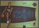 2007/08 Ultimate Collection #109 Daequan Cook Foil Rookie Auto #05/10
