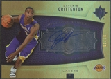 2007/08 Ultimate Collection #110 Javaris Crittenton Foil Rookie Auto #01/10