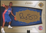 2007/08 Ultimate Collection #139 Rodney Stuckey Gold Rookie Auto /50
