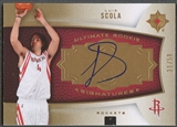 2007/08 Ultimate Collection #140 Luis Scola Gold Rookie Auto #31/50