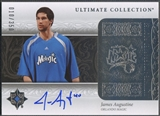 2006/07 Ultimate Collection #193 James Augustine Rookie Auto #010/350