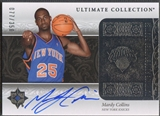 2006/07 Ultimate Collection #201 Mardy Collins Rookie Auto #077/350