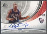 2005/06 SP Game Used #RJ Richard Jefferson SIGnificance Auto #058/100