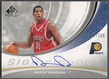 2005/06 SP Game Used #DG Danny Granger SIGnificance Rookie Auto #026/100