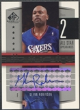 2004/05 SP Game Used #GR Glenn Robinson All-Star Sigs Auto #15/25