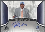 2006/07 SP Game Used #RG Rudy Gay SIGnificance Rookie Auto /100