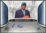 2006/07 SP Game Used #FR Randy Foye SIGnificance Rookie Auto #073/100