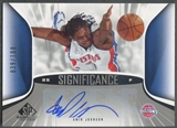 2006/07 SP Game Used #JO Amir Johnson SIGnificance Auto /100