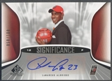 2006/07 SP Game Used #LA LaMarcus Aldridge SIGnificance Rookie Auto /100