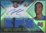 2008/09 SPx #164 Courtney Lee Rookie Jersey Auto /599